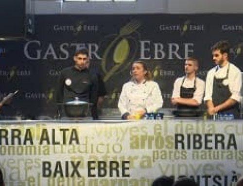 Showcooking Gastroebre 2019: Cuina en directe amb Teima Caballé, Rafel Muria i Pau Castell