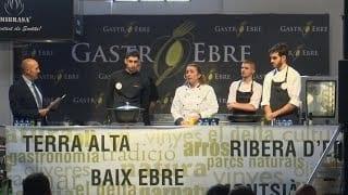 Showcooking Gastroebre 2019: Cuina en directe amb Teima Caballé