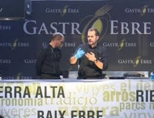Showcooking Gastroebre 2019: Cuina en directe Jordi Perich