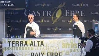 Showcooking Gastroebre 2019: Cuina en directe Christian Escribà