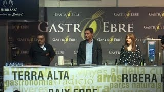 Showcooking Gastroebre 2019: Ponència l'Oli a Taula
