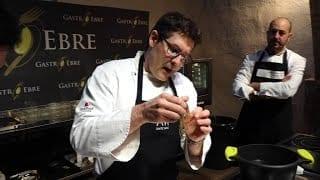 Showcooking Gastroebre 2019: cuina en directe amb el xef Vicent Guimerà i Josep Armenteros
