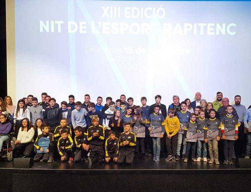La Nit de l'Esport Rapitenc reconeix la inclusió amb la menció especial a Jaume Navarro