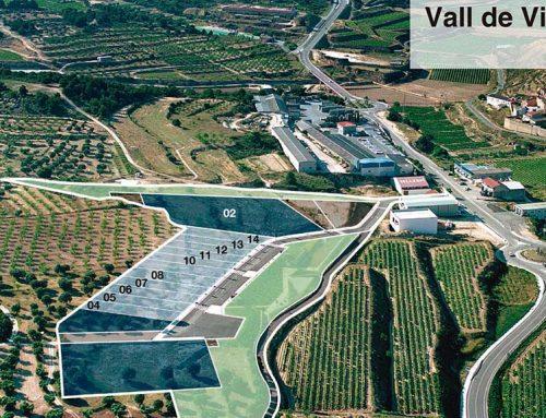 L'Incasòl ven tres parcel·les al sector d'activitats econòmiques Vall de les Vinyes de Batea