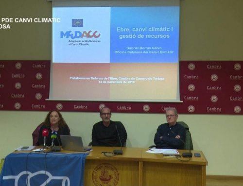 Cicle PDE 'Ebre canvi climàtic i gestió de residus' A càrrec de Gabriel Borràs director de l'