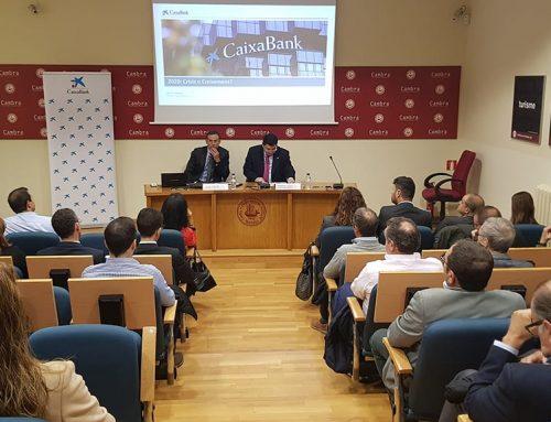 El director de CaixaBank a Catalunya exposa a l'empresariat ebrenc les perspectives econòmiques