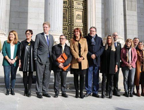 Ferran Bel torna a Madrid un cop recuperada l'acta de diputat al Congrés