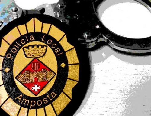 Detingut un multireincident que assaltava cotxes a Amposta