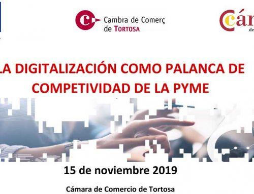 Jornada sobre digitalització a la Cambra del Comerç de Tortosa