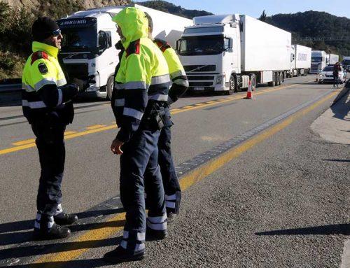 Reobren l'AP-7 en els dos sentit a la frontera després de 31 hores de tall convocat pel Tsunami Democràtic