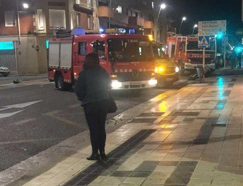 L'Avinguda de la Generalitat a Tortosa està tallada per un atropellament