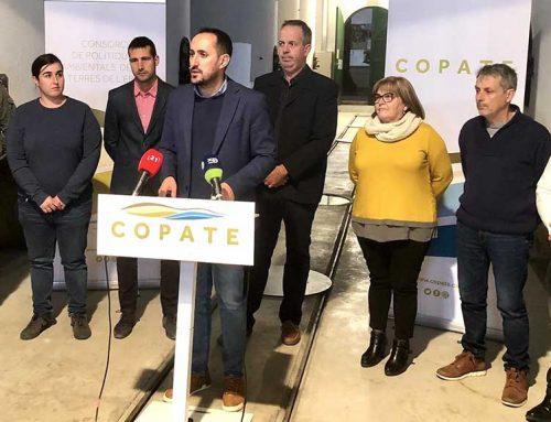 El COPATE presenta el seu nou govern tripartit amb l'absència de Junts per Catalunya