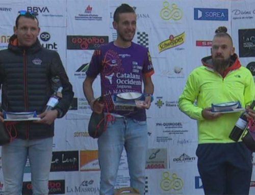 Ivan Calvó i Marta Vidal dominen la cursa de Sirga de Móra d'Ebre