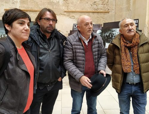 El Poble Vell de Corbera d'Ebre acull en una exposició els 130 anys del sindicat UGT
