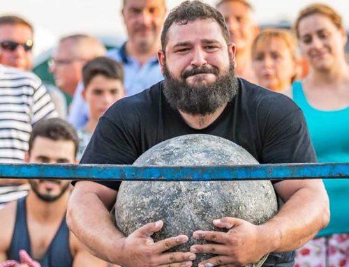 L'strongman Joan Ferrer, es queda a un pas de ser campió nacional de Força