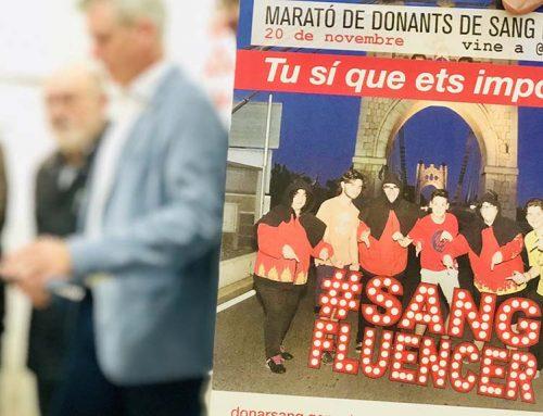 Els #sangfluencers protagonitzen enguany la Marató de donants de sang d'Amposta