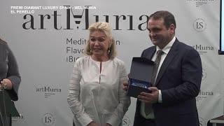 """Mel Múria rep el premi """"Diamant d'Excel·lència"""" de l'Associació Espanyola del Luxe"""