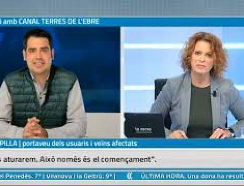 """Entrevista a Joan Capilla, portaveu d'afectats per """"la carretera de la vergonya"""" a Poble Nou"""