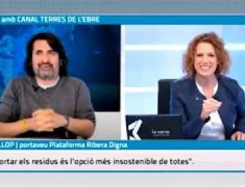 Entrevista a Miquel Llop, portaveu de la Plataforma Ribera Digna