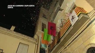 Festes Majors Sant Martí  Joc de carrers i Xupi Xerta
