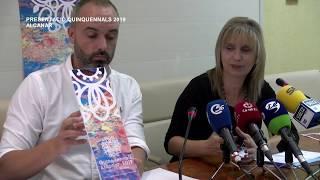 Presentació Quinquennals 2019 a Alcanar