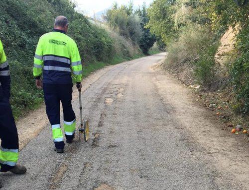 El Consell Comarcal del Baix Ebre repara el ferm en mal estat de la Via Verda entre Tortosa i Xerta