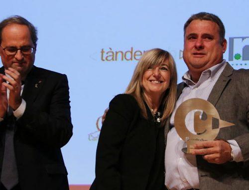 El ramader Pere Jornet, un dels afectats pel foc de la Ribera d'Ebre, Premi Comarcal Cambra 2019