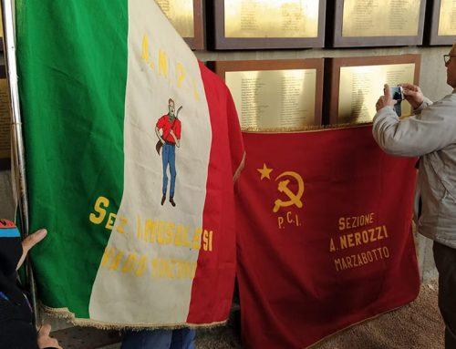 El Memorial de les Camposines homenatja un alcalde italià mort a la Batalla de l'Ebre