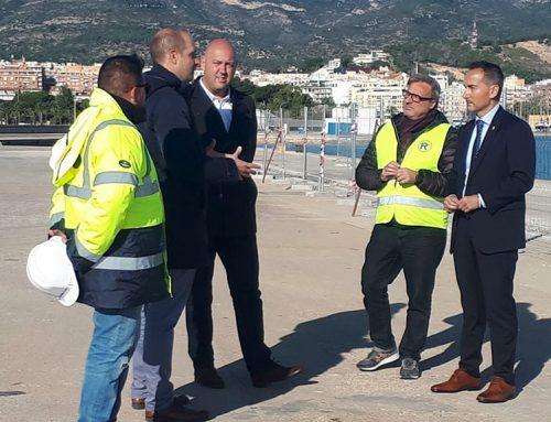 Ports inverteix mes de mig milió d'euros en reordenar el moll comercial de la Ràpita en un espai polivalent