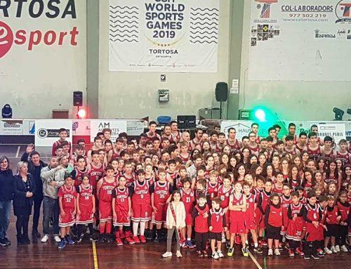 Presentació dels dotze equips del Club Bàsquet Cantaires Tortosa