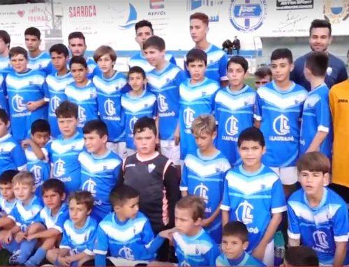 Es presenta la pedrera de l'Atlètic Móra la Nova amb més de 100 futbolistes