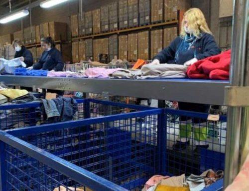 La Fundació Formació i Treball arriba a un màxim històric de recollida de tèxtil: 6.500.000 de quilos en 6 mesos