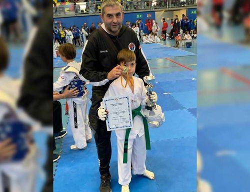 Martí Cervellera campió de Catalunya de Taekwondo
