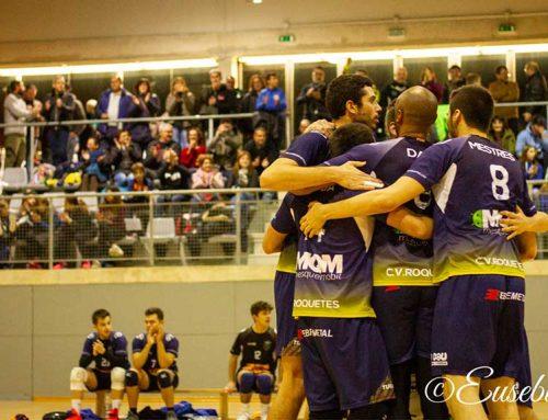 El Club Volei Roquetes suma per primer cop a la lliga dues victòries seguides