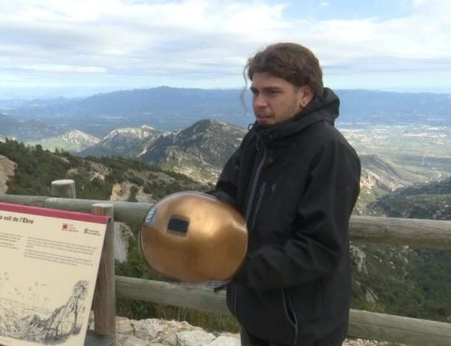 Un documental sobre el longboard a les Terres de l'Ebre porta al campio d'skate Óscar Rodríguez a Caro