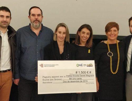 L'IE Daniel Mangrané de Jesús, distingit amb un dels Premis Inclusius de l'Esport Català