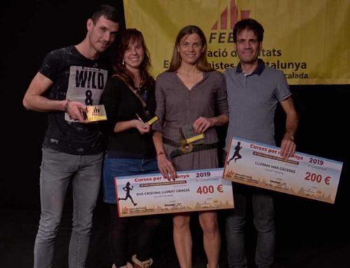 Tres runners del Montbike d'Amposta premiats a la gala de curses de muntanya de la FEEC