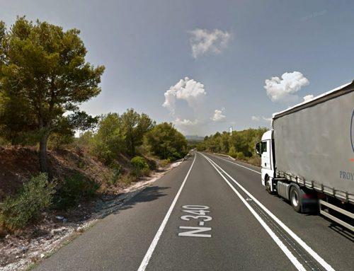 Foment arranjarà un tram de 16 quilòmetres de la carretera N-340 entre el Perelló i l'Ametlla de Mar