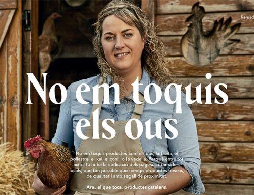 Una ramadera de Móra d'Ebre protagonitza una campanya de Generalitat que promou la qualitat dels productes agroalimentaris catalans