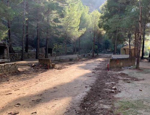 Gandesa inverteix 89.000 euros en millorar la zona de pícnic i aparcaments del Santuari de la Fontcalda