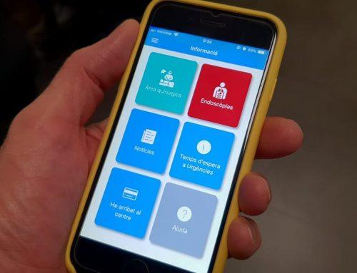 Els pacients de l'HTVC poden fer l'admissió des del mòbil sense passar per la pantalla d'admissió