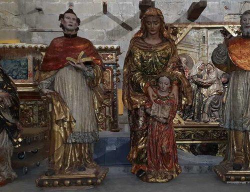 Finalitza la restauració del retaule barroc de Santa Anna de la catedral de Tortosa