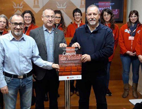 L'auditori Felip Pedrell acollirà el 28 de desembre el concert de Nadal de la banda de Tortosa a benefici de Creu Roja