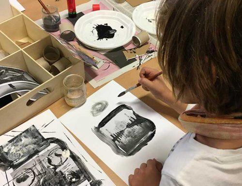 L'Escola Sant Llàtzer participa en el projecte 'Compartim espais de creació i diàleg artístic'