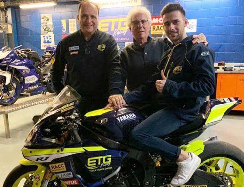 Marc Alcoba fa el salt temporada vinent al Campionat d'Espanya de motociclisme
