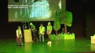 Obra teatre per La Marató: La Nit de Nadal a Sant Jaume d'Enveja