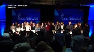 II Gala de l'Educació a Amposta