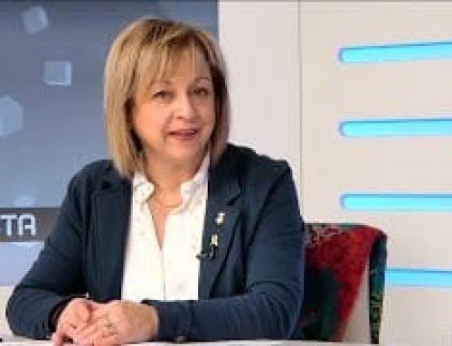 Entrevista a Núria Pla, regidora de Fires i Atenció Ciutadana a l'Ajuntament d'Amposta