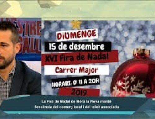 L'Estret de Magallanes: Móra la Nova prepara la Fira de Nadal