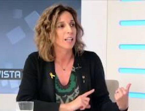 Entrevista a la consellera d'Empresa i Coneixement, Àngels Chacón